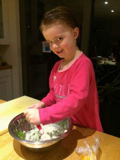 Witloofsla klaarmaken gezond
