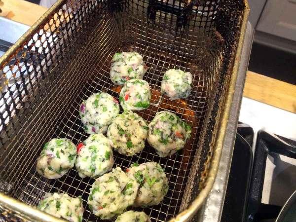 Thaise visballetjes snel en simpel