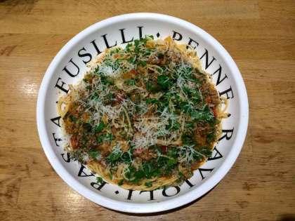 hoe pasta serveren recept