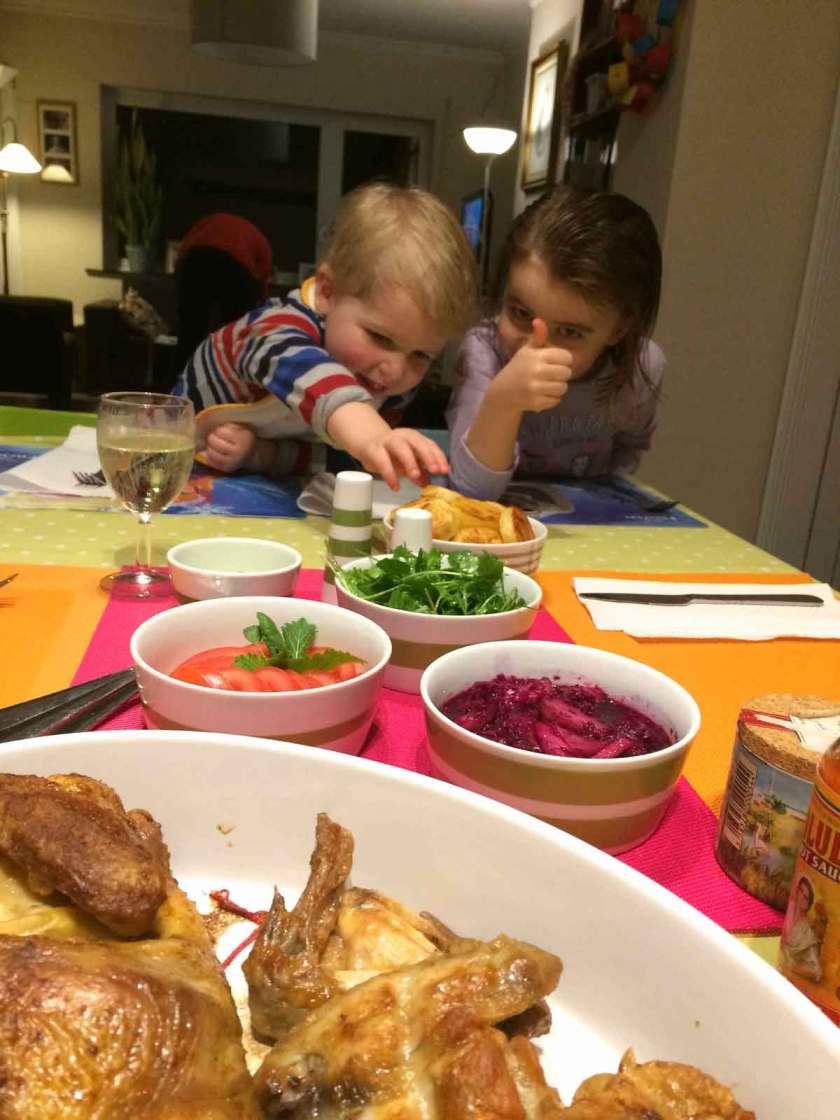 Lekere gezonde gebakken aardappelen voor de kinderen: lekker!