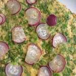 Mooie omelet met radijsjes en drie gouden tips