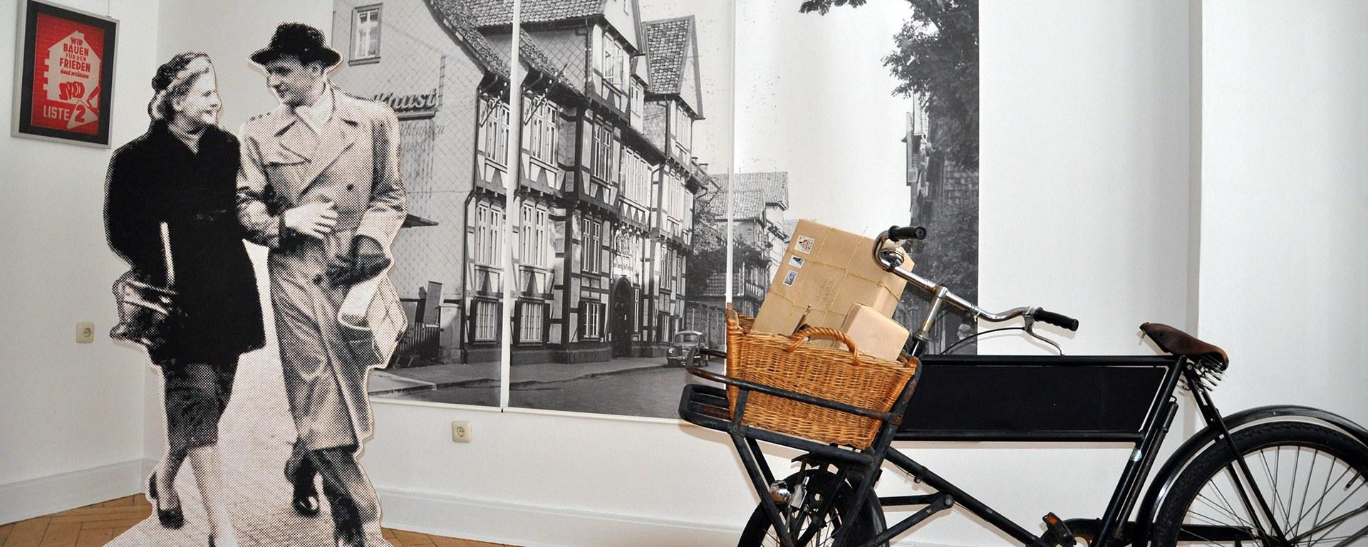 Pärchen im Wolfenbüttel der 50er und 60er Jahre