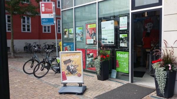 Die Tourist-Info & Theaterkasse: Hier soll der neue Kollege arbeiten © Stadt Wolfenbüttel, Fotograf: Donata Sengpiel-Schröder
