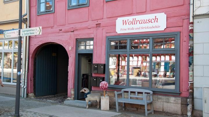 Wollrausch Wolfenbüttel Außenansicht