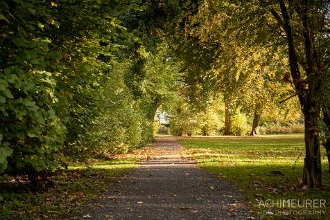 Parkanlagen im Herbst in Wolfenbüttel