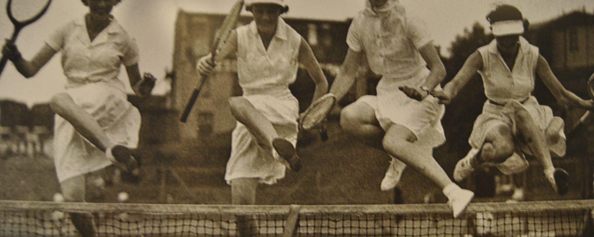 Tennis anno dazumals in Wolfenbüttel