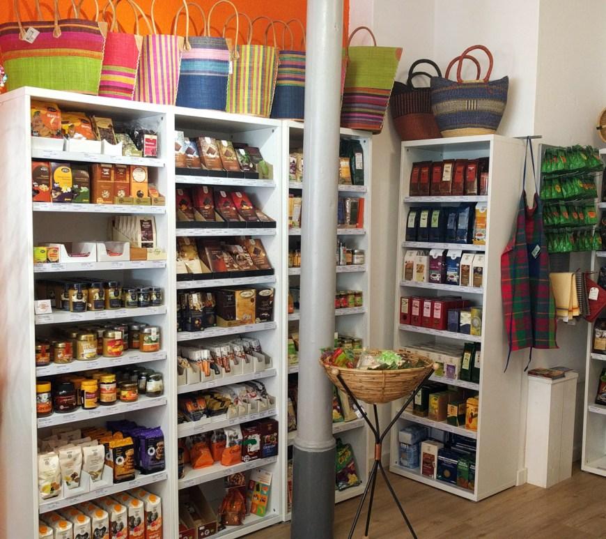 Lebensmittel im Weltladen Wolfenbüttel