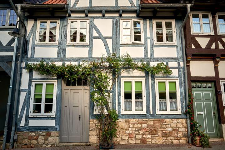 Märchenhafte Fachwerkhäuser in der Lessingstadt Wolfenbüttel