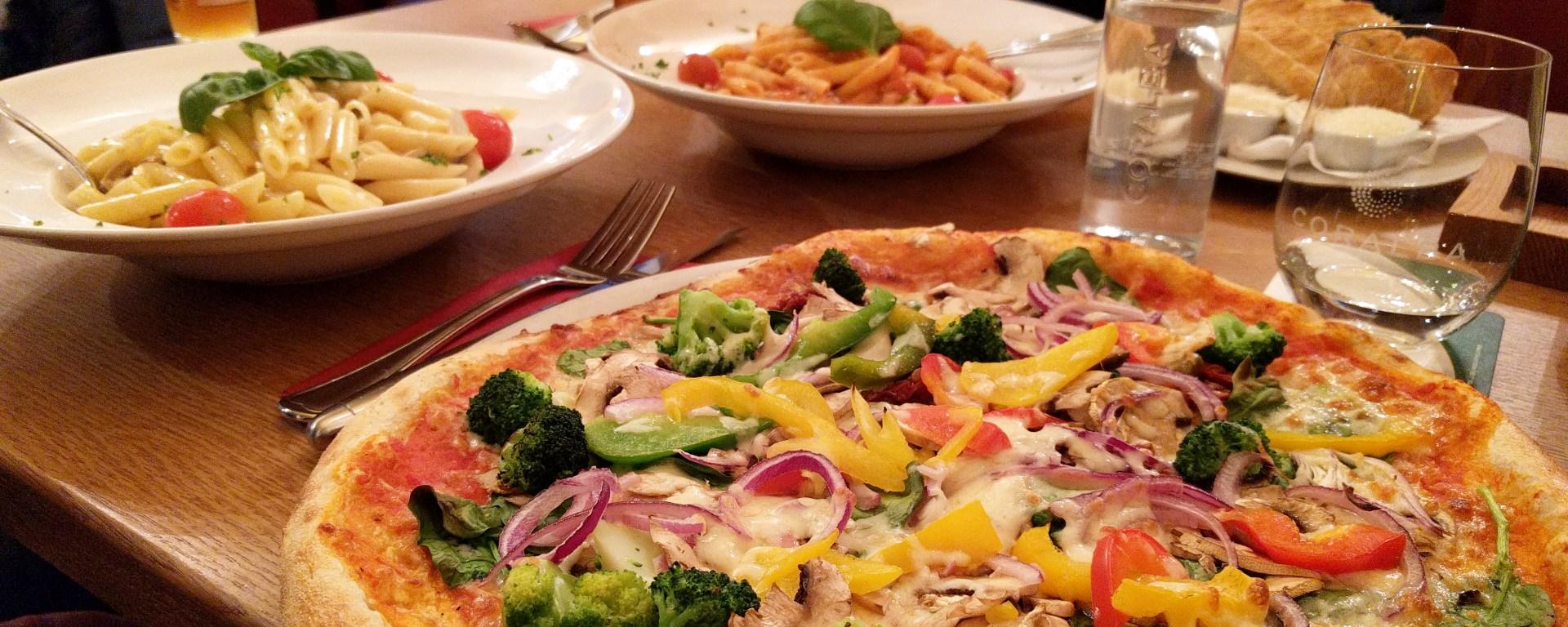 Pizza de la Casa im l´Oliveto