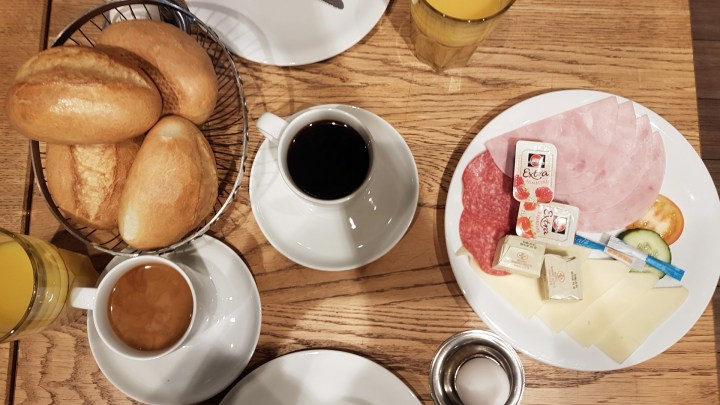 Frühstück im Café Anno 1770