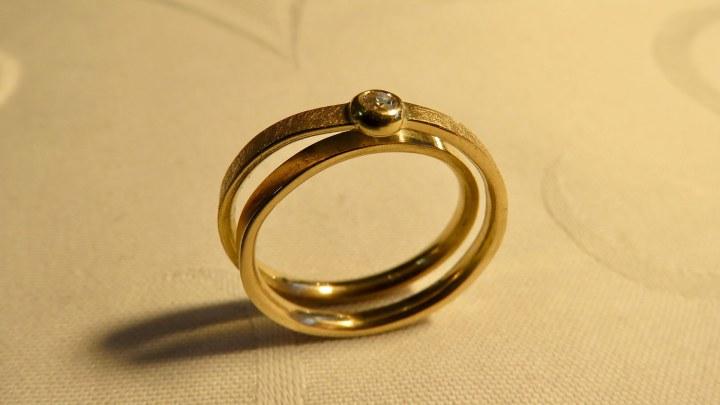 Ein Ring ist Schmuck ohne Anfang und Ende.