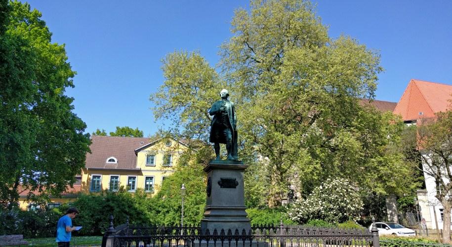 Lessing Denkmal in Braunschweig