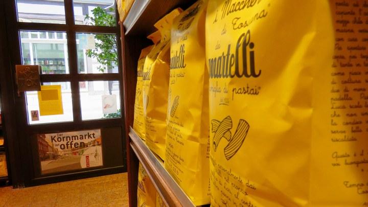 Auch seltene italienische Nudelspezialitäten gibt's bei Röber.