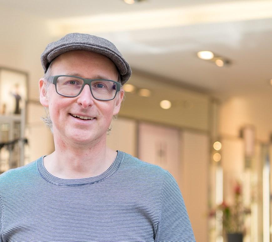 Ingo Lutz vom Optiker Hanssen by Herr Lutz.