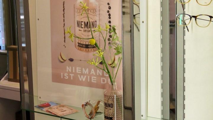 Der Hersteller des Lieblings-Gin von Ingo Lutzt erstellte den Namenszug »By Herr Lutz«.