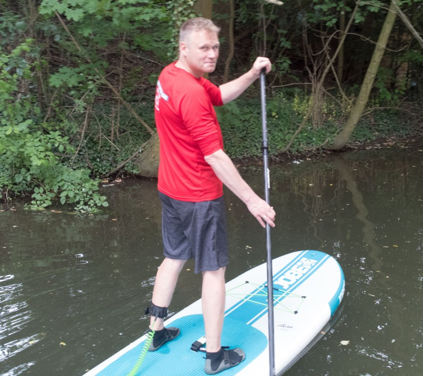 SUP-Instructor Andreas