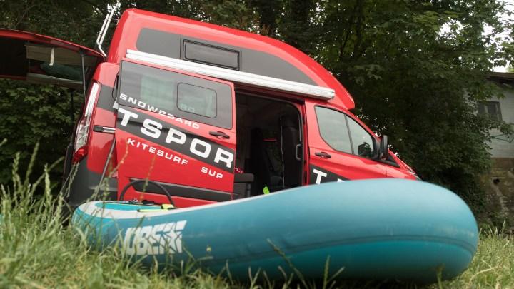 Der Camper von Brettsport.de