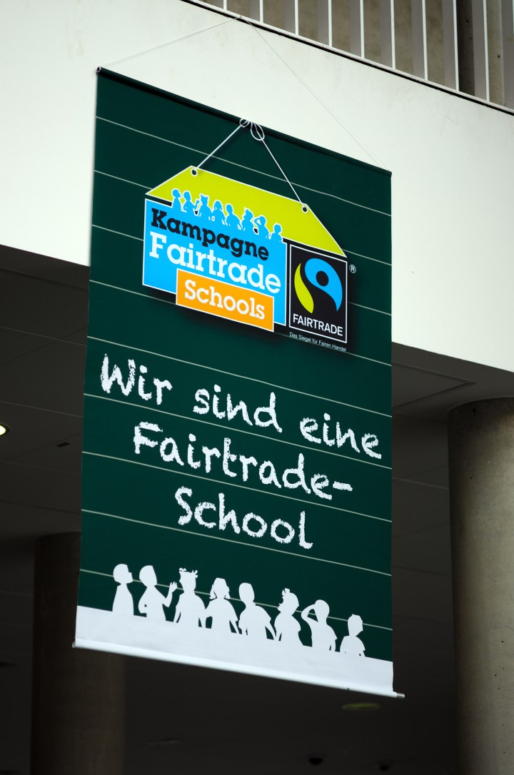 Plakat Fair Trade Schule