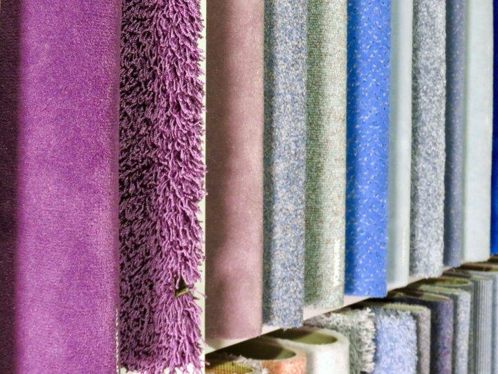 Eine riesige Auswahl an Materialien und Farben auf kleinstem Raum.