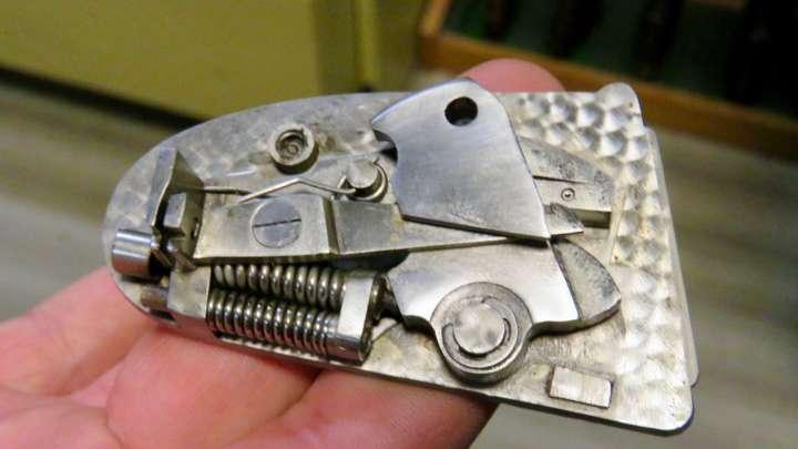 Und eine effiziente Mechanik.