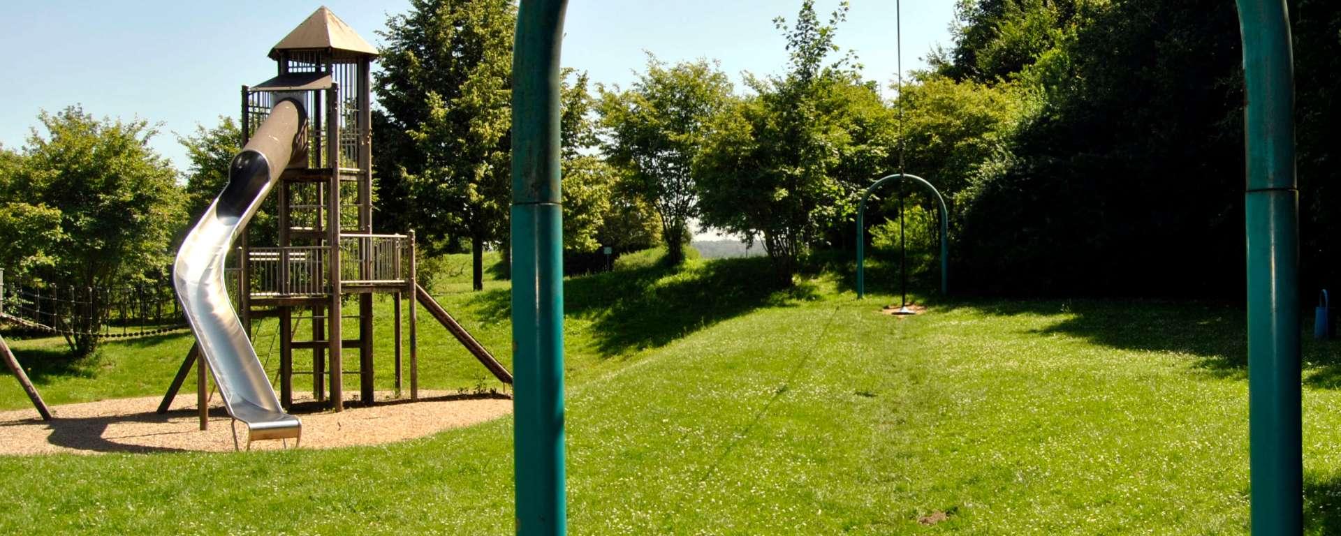 Der Waldspielplatz ist bei meiner Liste der absolute Favorit in Sachen Spielplätze