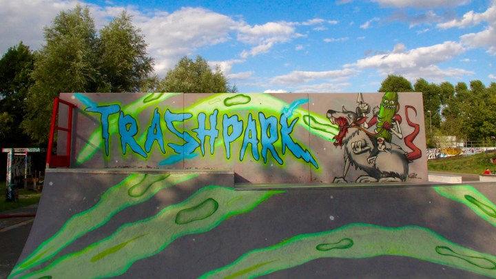 Rampe am Trashpark
