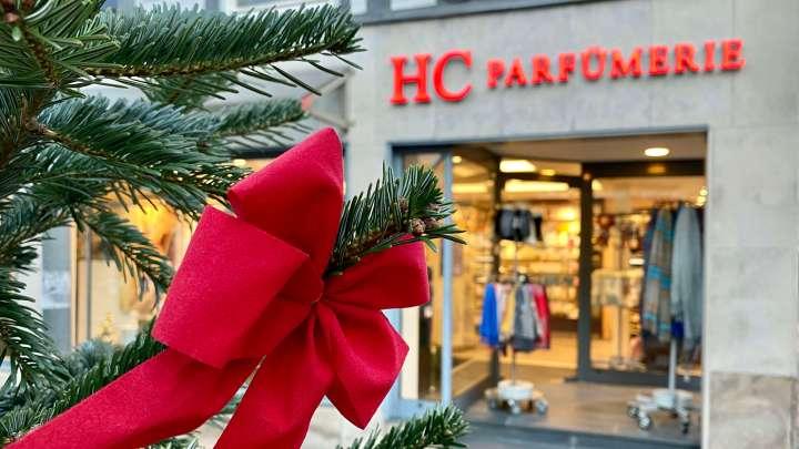 Exklusive Parfums gibt es bis zum 24.12. bei »HC Parfümerie Weber«.