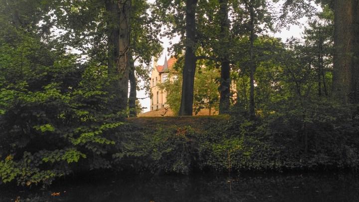 Die Villa Seeliger von der Oker aus