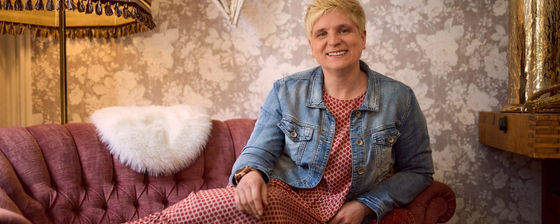 Doreen Mildner vom Blumencafé Blütenzauber.