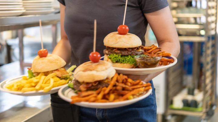 Es ist Burger-Zeit. © Denver Künzer