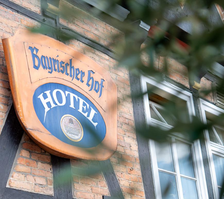 Hotel und Restaurant im Herzen Wolfenbüttels. © Denver Künzer