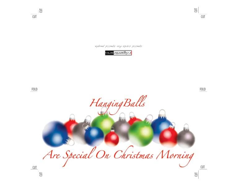 Hanging Balls Christmas Card from ecigarettenews.net