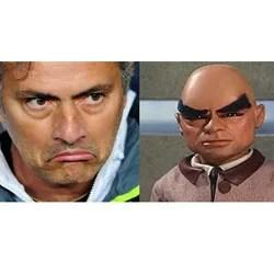 Jose Mourinho and Hood look alike