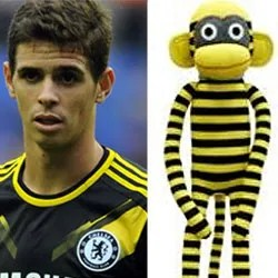 Oscar and Monkey Doll Look Alike