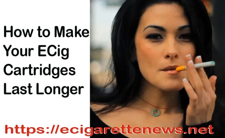 How to make your ecigarette cartridges last longer - title image