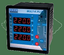 Medidor de energia Multi-K modbus consumo