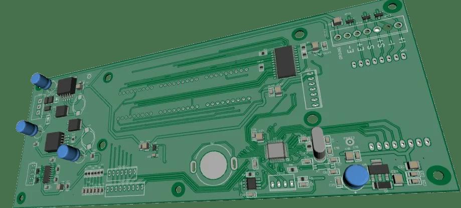 CAD 3D PCB CS5530ECK Eletrônica