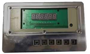 Frente Balança CS5530 painel ECK Eletrônica