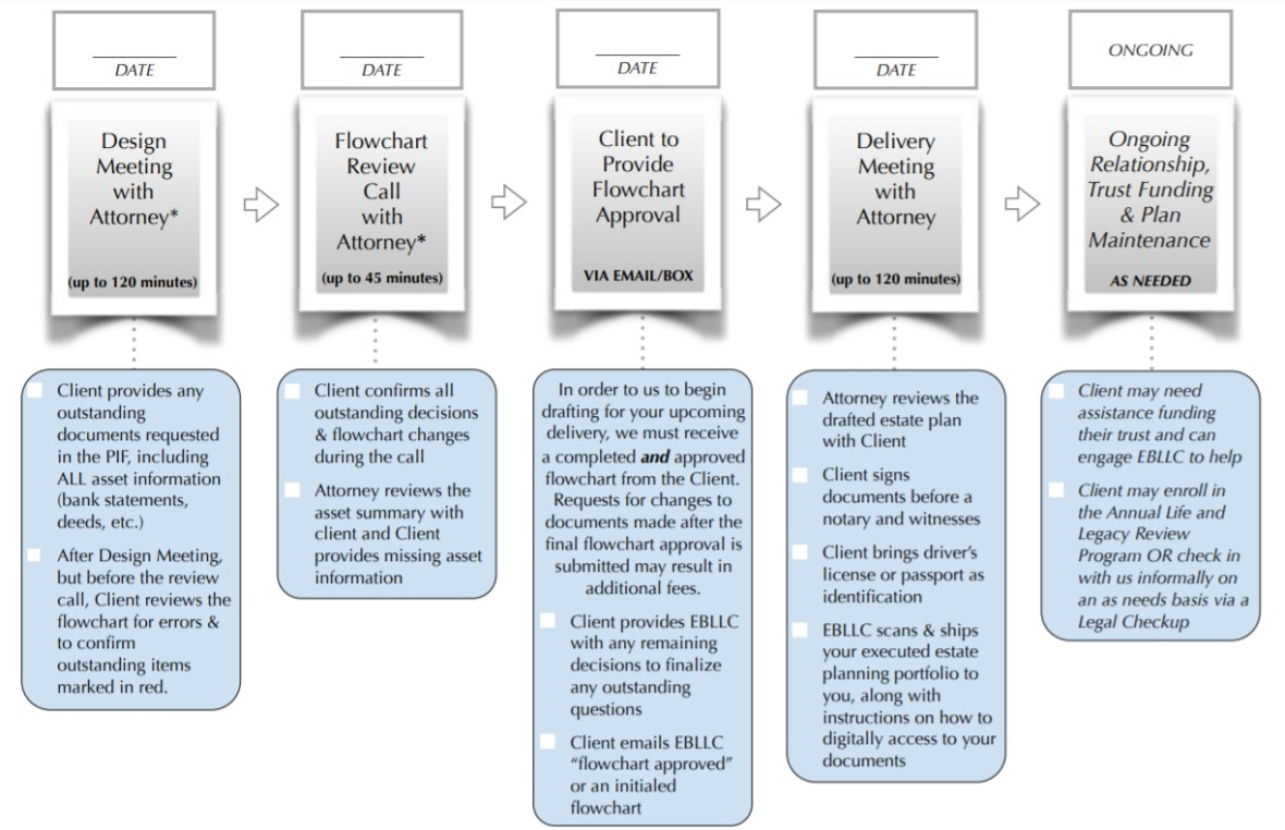 Willow Plan Timeline
