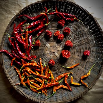 Dehydrated Peppers