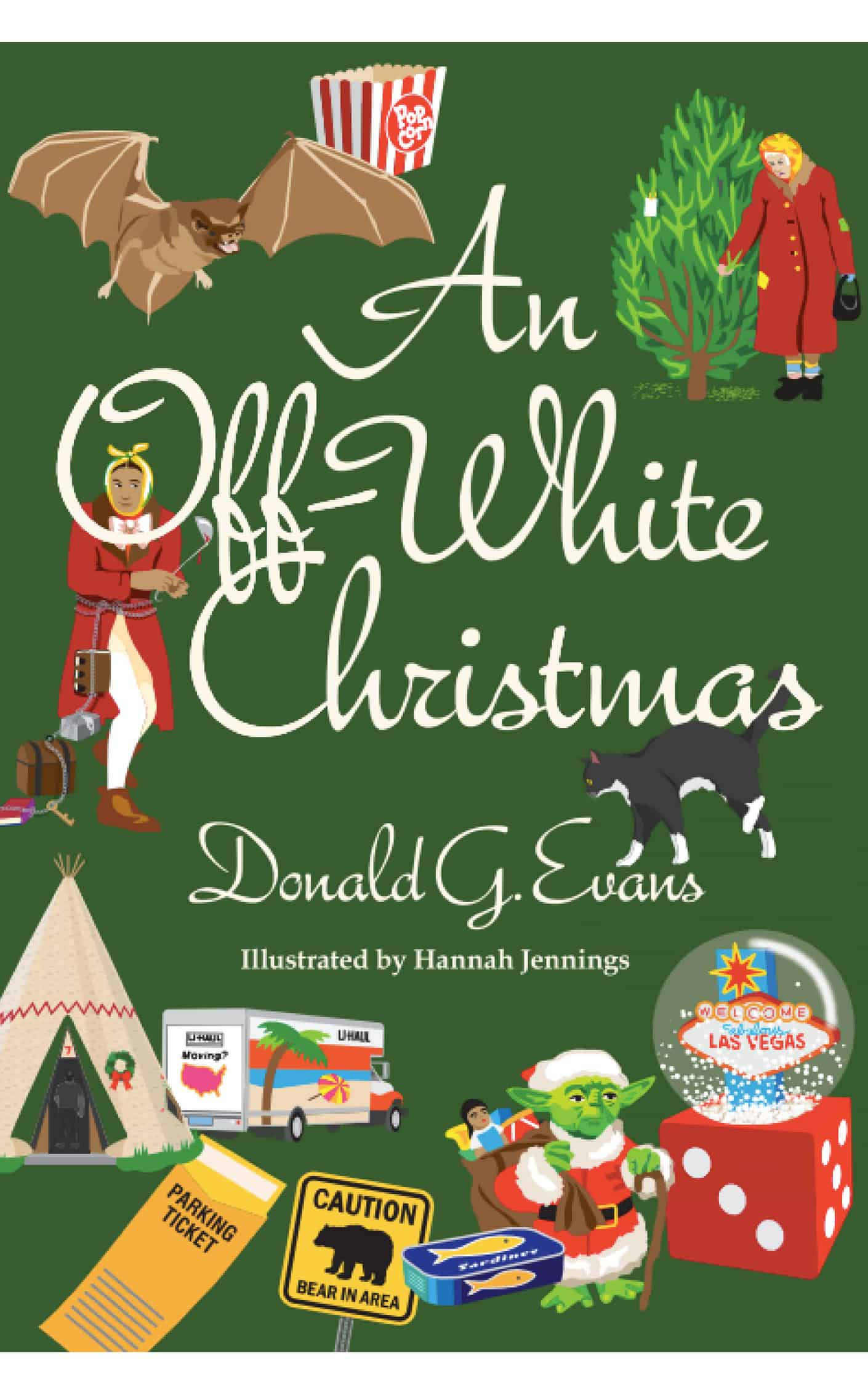 Eckhartz Press | Chicago | An Off White Christmas Paperback