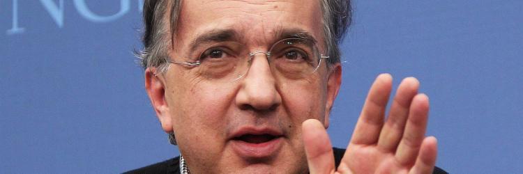 FCA-Chef Sergio Marchionne spricht bei einer Veranstaltung der Brookings Institution