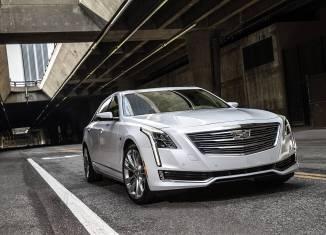 Bild des Cadillac CT6, einer 5,20 Meter langen Luxuslimousine
