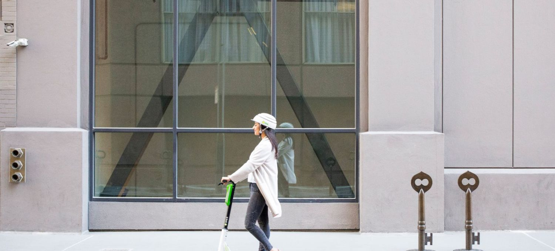 Elektro-Scooter des Verleihers Lime, Bild: Lime