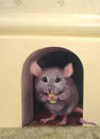 mouse in wall