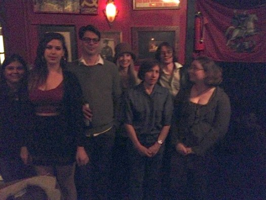 Left to Right: Vipra Ghimire, Lisa Marie Basile, Joe DiPonio, Rae Bryant, Cris Mazza, Justin Miracle Jones, and Lisa Dulin