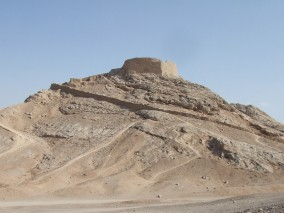 http://commons.wikimedia.org/wiki/File:Zoroastrians'_Tower_of_Silence.jpg