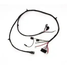 Chevy Truck Alternator & Front Light Wiring Harness, With
