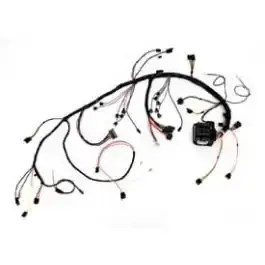 1977 Corvette Dash Wiring Harness With Alarm Switch In