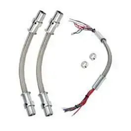 Chevy Impala Wiring Looms, Door Jamb, Stainless Steel